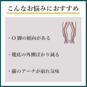 インソールプロ キング O脚 対策 中敷き インソール 衝撃吸収 ソール 矯正 メンズ|shoesfit|03