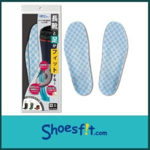 らくらく隊 長靴 用 ムレ 対策 中敷き インソール 衝撃吸収 通気性 レインブーツ 厚い さらさら 農作業 メンズ レディース|shoesfit