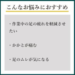 安全靴 用 インソール 衝撃吸収 かかと痛 ムレ 通気性 作業靴 中敷き 日本製|shoesfit|03