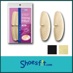 フィッティングピロー ヒール バック 枕 パッド かかと 靴擦れ サイズ調整 低反発 クッション レディース   shoesfit