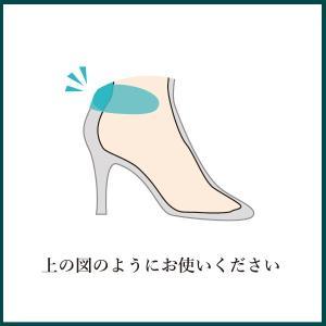 フィッティングピロー ヒール バック 枕 パッド かかと 靴擦れ サイズ調整 低反発 クッション レディース   shoesfit 04