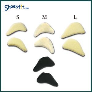 フィッティングピロー ゆび先 枕 前すべり サイズ調整 パッド つま先 指先 低反発 クッション レディース|shoesfit|02
