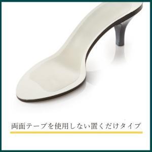 インソール カバー フルタイプ 透明 薄い 前すべり 前滑り 水洗い 中敷き レディース|shoesfit|04
