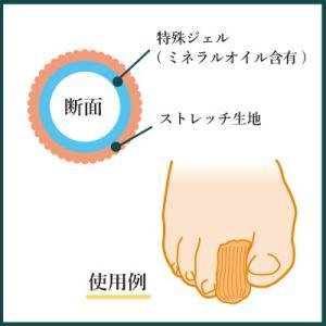 デラメド トゥキャップ 衝撃吸収 タコ 魚の目 巻き爪 陥入爪 ジェル 足指 足趾 メンズ レディース|shoesfit|04