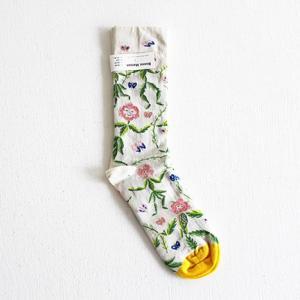 Bonne Maison ボンヌメゾン コットンソックス Les Blondes BD4-01 レディース 靴下|shoesgallery-hana