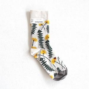 Bonne Maison ボンヌメゾン コットンソックス Les Pissenlits PS2-01 レディース 靴下|shoesgallery-hana