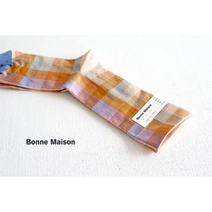 Bonne Maison ボンヌメゾン コットンソックス Sous l'eau SL2-01 レディース 靴下 shoesgallery-hana 02