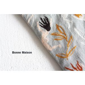 Bonne Maison ボンヌメゾン コットンソックス Sous l'eau SL8-01 レディース 靴下|shoesgallery-hana|02