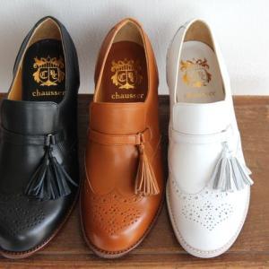 chausser ショセ タッセル付き スリッポンシューズ C-2215 レディース 靴 shoesgallery-hana
