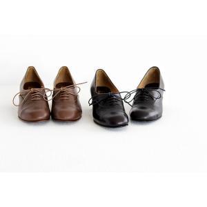 chausser ショセ レースアップパンプス C-2185  レディース 靴 shoesgallery-hana 04
