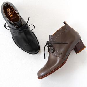 chausser ショセ レースアップブーツ C-2278 レディース 靴|shoesgallery-hana