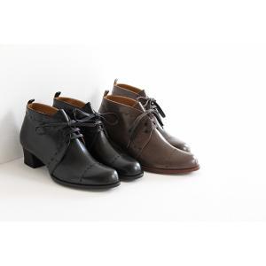 chausser ショセ レースアップブーツ C-2278 レディース 靴|shoesgallery-hana|02