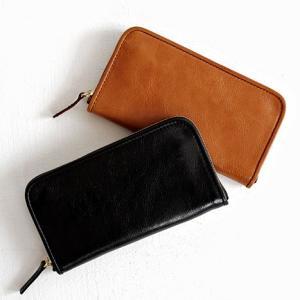chausser ショセ レザーロングウォレット C-650 レディース メンズ 財布|shoesgallery-hana