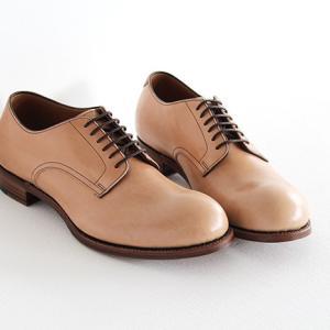 chausser ショセ ナチュラルコードバン プレーントゥ レースアップシューズ C-7930 メンズ 靴 shoesgallery-hana