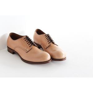 chausser ショセ ナチュラルコードバン プレーントゥ レースアップシューズ C-7930 メンズ 靴 shoesgallery-hana 02