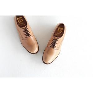 chausser ショセ ナチュラルコードバン プレーントゥ レースアップシューズ C-7930 メンズ 靴 shoesgallery-hana 03