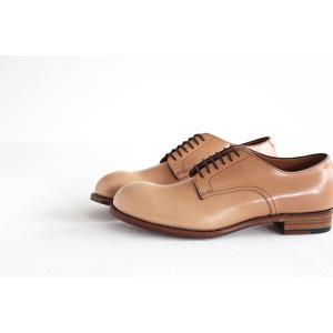 chausser ショセ ナチュラルコードバン プレーントゥ レースアップシューズ C-7930 メンズ 靴 shoesgallery-hana 04