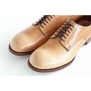 chausser ショセ ナチュラルコードバン プレーントゥ レースアップシューズ C-7930 メンズ 靴 shoesgallery-hana 05