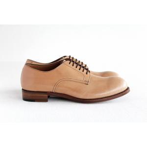 chausser ショセ ナチュラルコードバン プレーントゥ レースアップシューズ C-7930 メンズ 靴 shoesgallery-hana 06