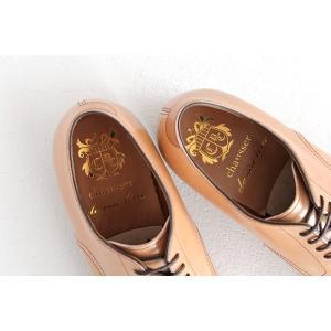 chausser ショセ ナチュラルコードバン プレーントゥ レースアップシューズ C-7930 メンズ 靴 shoesgallery-hana 08