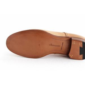 chausser ショセ ナチュラルコードバン プレーントゥ レースアップシューズ C-7930 メンズ 靴 shoesgallery-hana 09