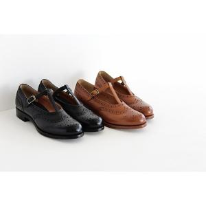 plus by chausser プリュス バイ ショセ Tストラップシューズ PC-5042 レディース 靴 shoesgallery-hana 02