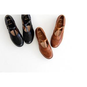 plus by chausser プリュス バイ ショセ Tストラップシューズ PC-5042 レディース 靴 shoesgallery-hana 03