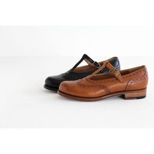 plus by chausser プリュス バイ ショセ Tストラップシューズ PC-5042 レディース 靴 shoesgallery-hana 04