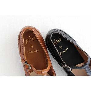 plus by chausser プリュス バイ ショセ Tストラップシューズ PC-5042 レディース 靴 shoesgallery-hana 08