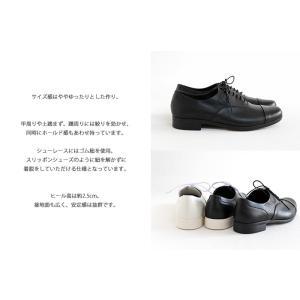 TRAVEL SHOES by chausser トラベルシューズバイショセ ストレートチップレースアップシューズ TR-001 レディース 靴|shoesgallery-hana|07