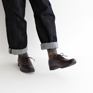 TRAVEL SHOES by chausser トラベルシューズバイショセ ストレートチップレースアップシューズ TR-001 ダークブラウン レディース 靴|shoesgallery-hana|04