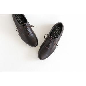 TRAVEL SHOES by chausser トラベルシューズバイショセ ストレートチップレースアップシューズ TR-001 ダークブラウン レディース 靴|shoesgallery-hana|05