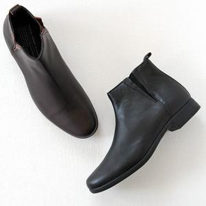 TRAVEL SHOES by chausser トラベルシューズバイショセ サイドゴアブーツ TR-005 レディース 靴|shoesgallery-hana