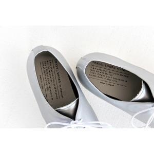 TRAVEL SHOES by chausser トラベルシューズバイショセ プレーントゥレースアップシューズ TR-008 シルバー/ホワイト レディース 靴 shoesgallery-hana 08