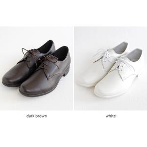 TRAVEL SHOES by chausser トラベルシューズバイショセ プレーントゥレースアップシューズ TR-008 レディース 靴|shoesgallery-hana|12