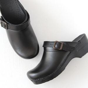 dansko ダンスコ Ingrid イングリッド ボックス ブラック レディース 靴 サボ クロッグ|shoesgallery-hana