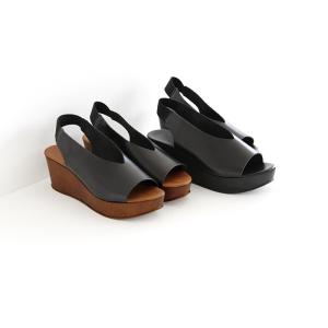 eness エネス ウェッジソール レザーサンダル No.55750V レディース 靴|shoesgallery-hana|02