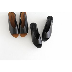 eness エネス ウェッジソール レザーサンダル No.55750V レディース 靴|shoesgallery-hana|04