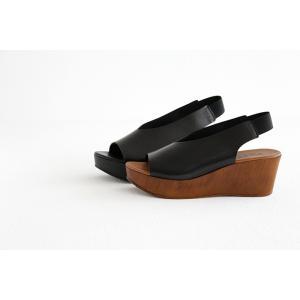eness エネス ウェッジソール レザーサンダル No.55750V レディース 靴|shoesgallery-hana|06