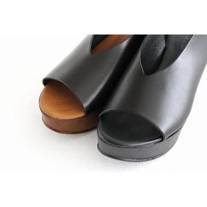 eness エネス ウェッジソール レザーサンダル No.55750V レディース 靴|shoesgallery-hana|07
