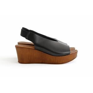 eness エネス ウェッジソール レザーサンダル No.55750V レディース 靴|shoesgallery-hana|08