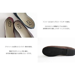 fs/ny エフエススラッシュエヌワイ バレエシューズ click Manzoni レディース 靴|shoesgallery-hana|08