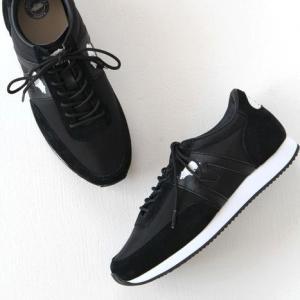 KARHU(カルフ)ナイロン×スエード スニーカー ALBATROSS/アルバトロス black/black (メンズ)|shoesgallery-hana