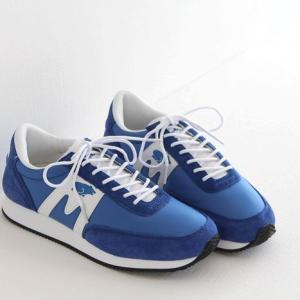 (10%OFFクーポン配布中)KARHU(カルフ)ナイロン×スエード スニーカー ALBATROSS/アルバトロス blue/white (メンズ)|shoesgallery-hana