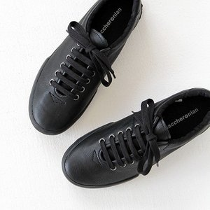 maccheronian マカロニアン スニーカー 0039L ブラック レディース|shoesgallery-hana