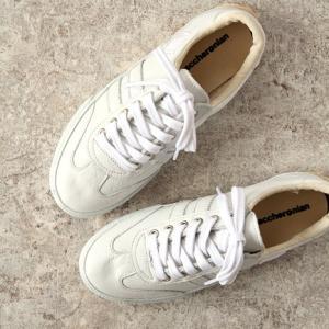 maccheronian(マカロニアン)レザースニーカー No.2039L white(ホワイト)(メンズ)|shoesgallery-hana