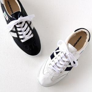 maccheronian(マカロニアン)レザースニーカー No.2039L white/navy、navy/white(レディース)|shoesgallery-hana