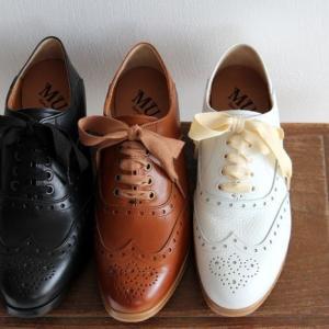 MUKAVA ムカヴァ ムカバ ウイングチップレースアップシューズ MU-966 レディース 靴|shoesgallery-hana