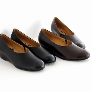 MUKAVA ムカヴァ ウエッジソールパンプス MU-984 レディース 靴|shoesgallery-hana