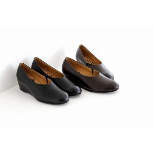 MUKAVA ムカヴァ ウエッジソールパンプス MU-984 レディース 靴 shoesgallery-hana 02